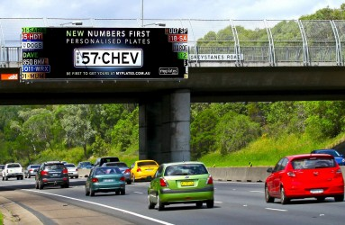 Number's First Billboard CHEV