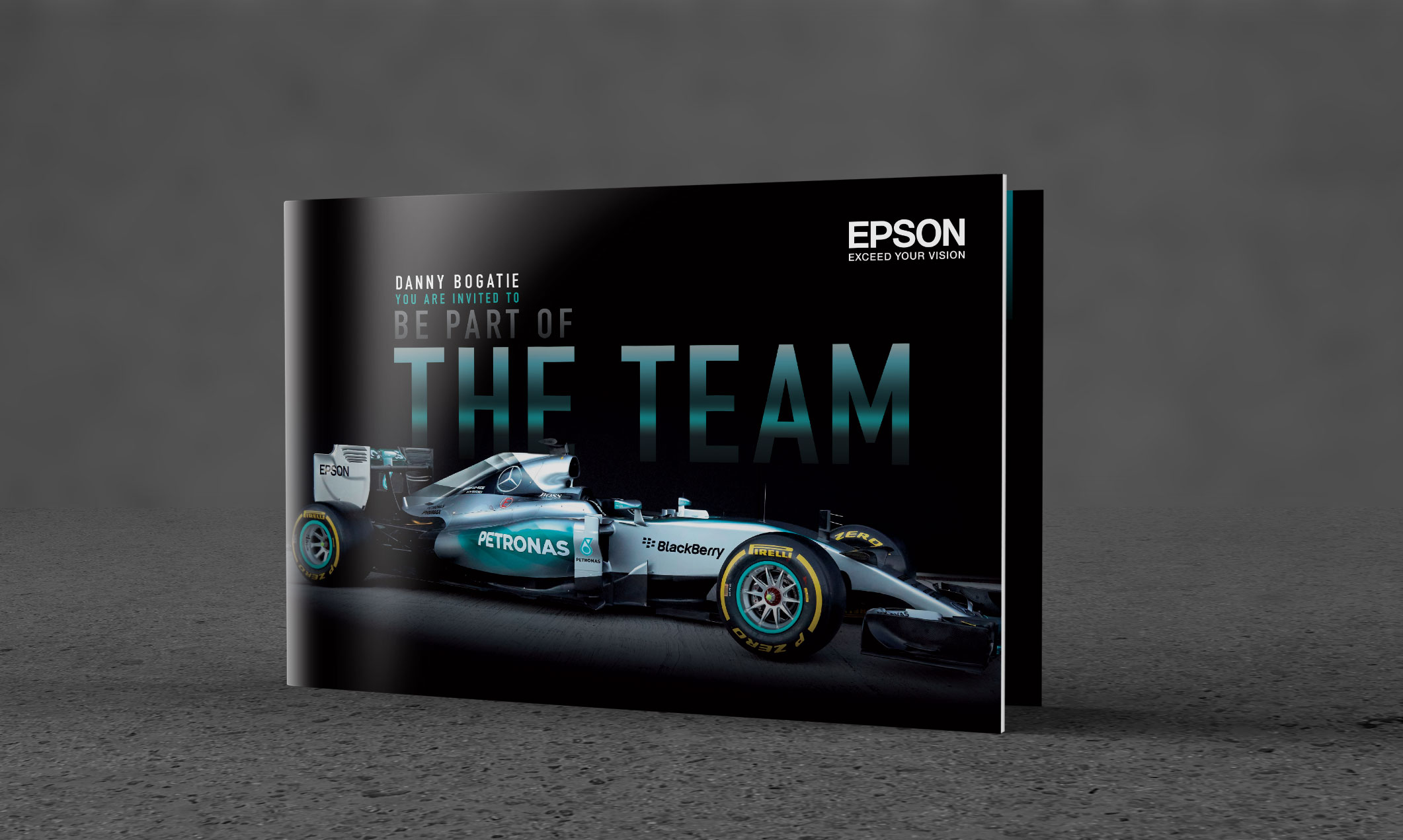 BESPOKE F1 INVITATIONS