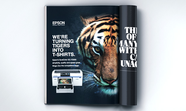 EPSON ADVERTISING SINCE 2009