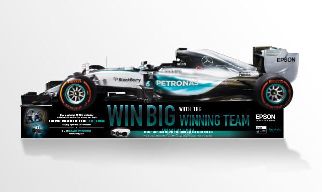 EPSON F1 Promotion